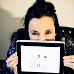 Angela Spulcioni – Mamma con l'iPad